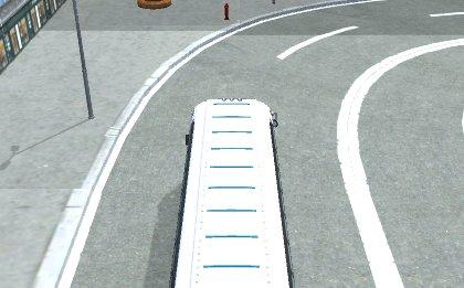 American Bus 3D parking