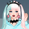 Pastel goth dress up game