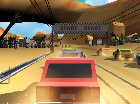 Pixel Rally 3D